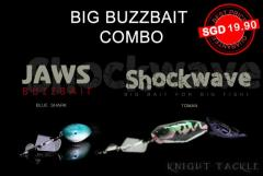 2 big buzzbait for only S$ 19.90