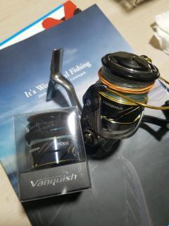 Shimano Vanquish C3000 + 2500S spool