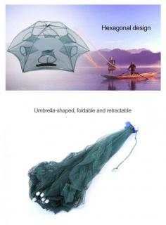 (CLEARANCE) 6-SIDED FISHING NET