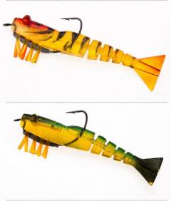 Lead hook Live shrimp lure