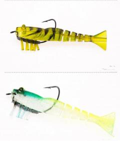 Lead hook Live shrimp lure
