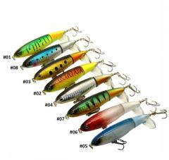 Whopper plopper fishing lure