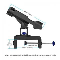 RH30 Fishing Rod holder with clamp Vise
