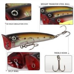 Popper fishing lure P010