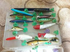 Assorted lures(Mostly Japan)