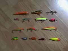 Seliing (STORM/RAPALA) used/new lures CHEAPCHEAP