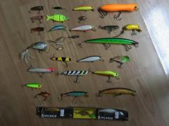 Selling NEW/USED ALL TYPES LURES SET SUPER DUPER CHEAPCHEAP