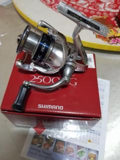 Shimano Stradic 2015 model. 2500HG