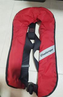 Inflatable life jacket..$60