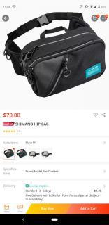 Shimano Hip Bag size M