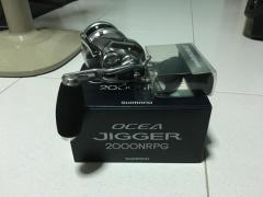 2017 Shimano Ocea jigger 2000nrpg