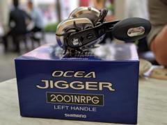2011 ocea jigger 2001nrpg with livre bj 92-100 handle