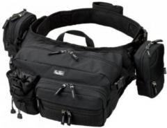 Evergreen Tackle Bag Hip and Shoulder Fishing Bag HD 2 Black