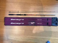 MAJOR CRAFT BENEYRO Baitcasting Rod BNC-652MH