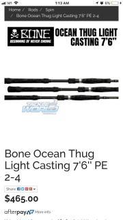 Bone Ocean Thug PE 2-4