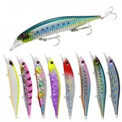 Floating minnow fishing lure M084