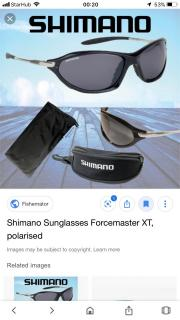 Shimano Sunglasses Forcemaster XT (Polarised)