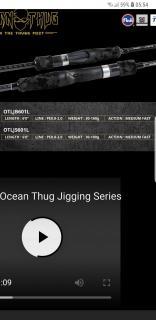 Bone ocean thug light jigging (spinning)