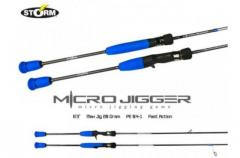 STORM MICRO JIGGER RODS
