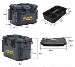 Brand New EVA Fishing Tackle Box(1 -available )