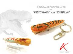 Dinosaur popper lure as