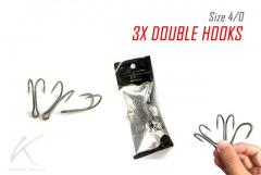 Cheap, Strong and good 3X Double hooks for your frogs / buzzbait.
