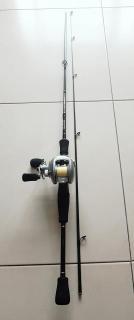 Daiwa beginner BC set wz carbon handle