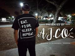 EAT. FISH. SLEEP. REPEAT tee