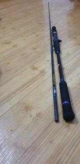 Ocea Jigger 1000hg + Penn Blackhawk pe 1-3 jigging rod
