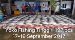 Kuching Fishing Trip from 21 to 26 Sept on Yoko Boat 1