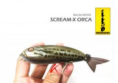 Rare & Cheap collectible Ito Engineering Scream-X Orca #1 lure (Pre-Booked)