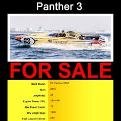 Panther 3 (Speedboat)