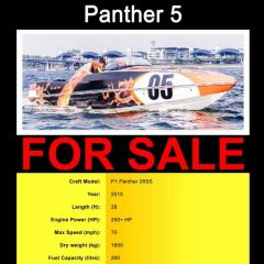 Panther 5 (Speedboat)