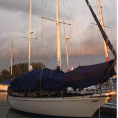 Classic Sailing 42 footer Ketch 80k sgd