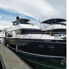 Yatch 60ft Carver Voyager 56 Black Magic