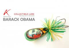 Extremely rare collectible jump frog - BARACK OBAMA (Please read the description below).