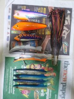 Trolling lures.