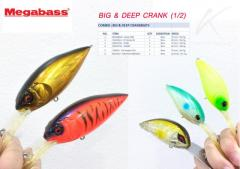 New, big and cheap Japanese deep diving crankbait.