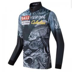 Bass lure fishing shirt #Lk1