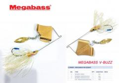 5 Pcs. New Megabass buzzbait for S$ 49.00 only.