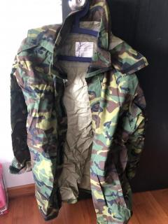 Gore-Tex Camou Raincoat