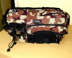 Evergreen Tackle Hip and Shoulder Fishing Bag Camo