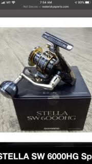 WTB Shimano Stella SW 6000HG
