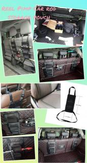 Car seat rod strap