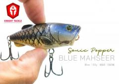 New / Cheap small popper that can cast far! (Blue mahseer color)