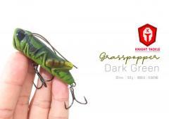 Superb action! unreal! Cheap! New! grasspopper - Dark green
