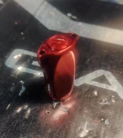 [SHIMANO] YUMEYA Aluminium Sensitive Handle Knob (Red) *HKAL