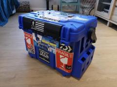 Meiho 7000 tackle box with rod holder