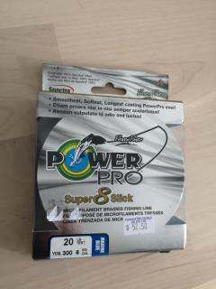 Power Pro 20lb braided line