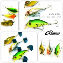 New/Cheap Owner Cultiva Bugeye lure set